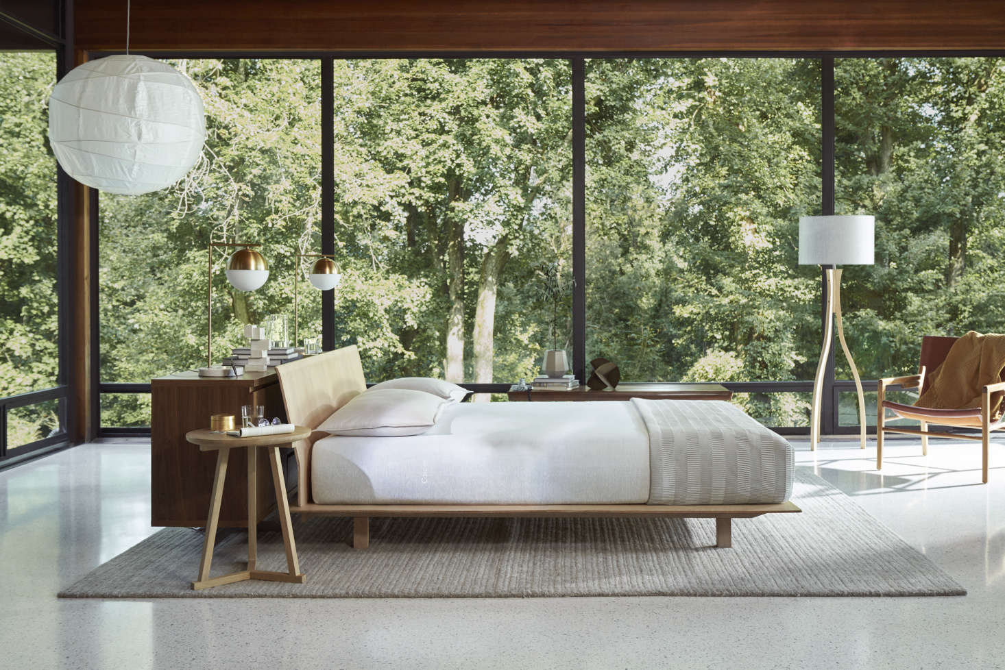 Steal This Look: A Midcentury-Inflected Bedroom Featuring Casper's Newest Mattress (Plus a Cyber Monday Sale)