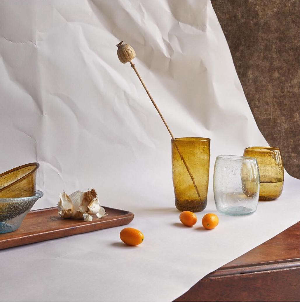 What to get the do-gooder in your life? Consider a set ofglasswaremade by traditional