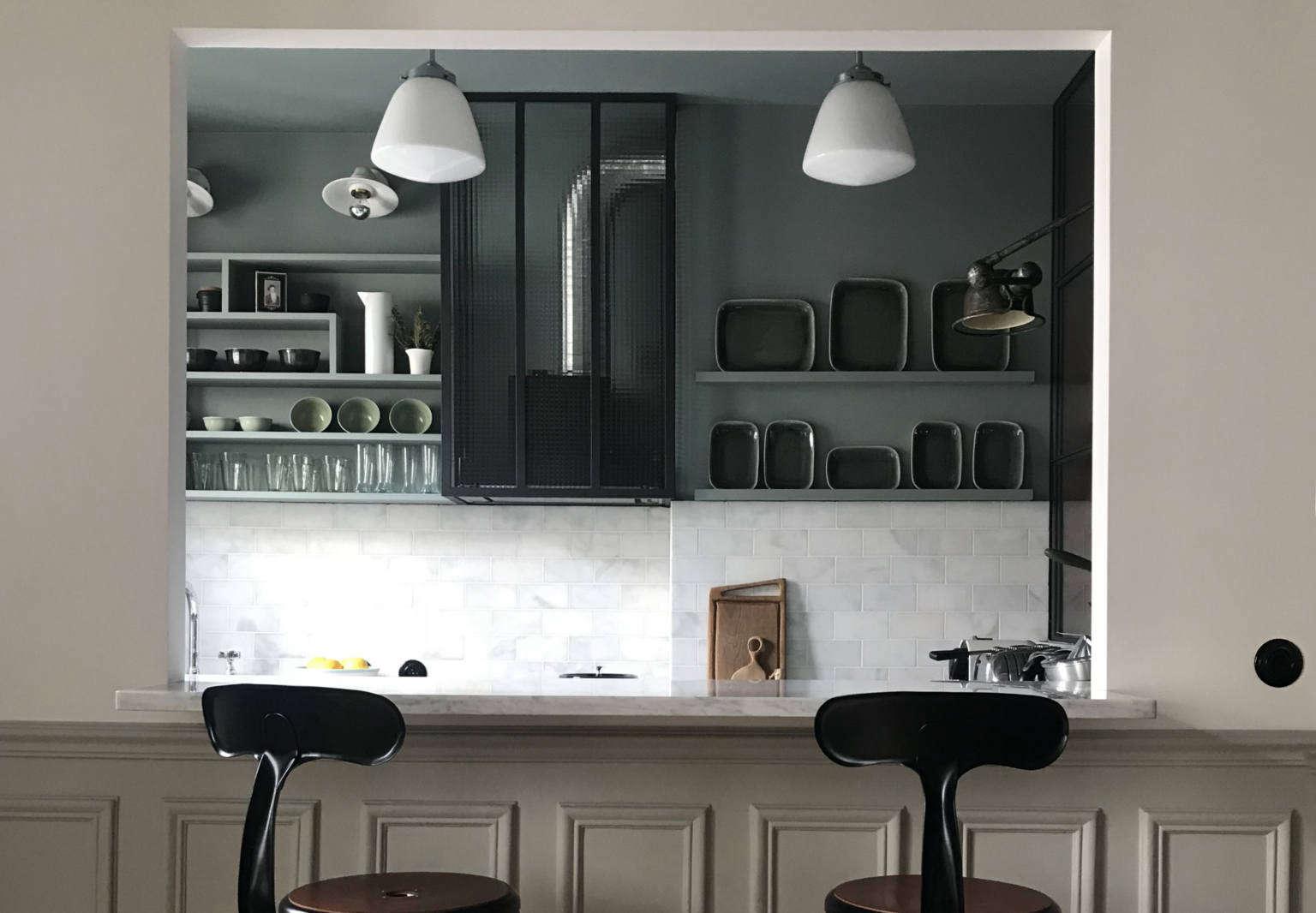 Pied À Terre Paris interior designer marianne evennou's paris office doubles as