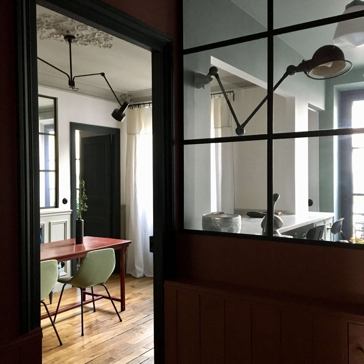 Home at the Office: Designer Marianne Evennou's Paris Work Quarters and Pied-à-Terre