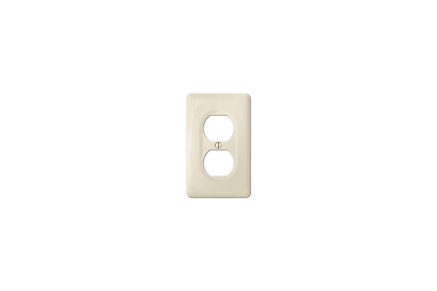 The Amerelle (3020DBT) Allena Biscuit Ceramic Duplex Wallplate is $5.49 at Wall Plate Warehouse.