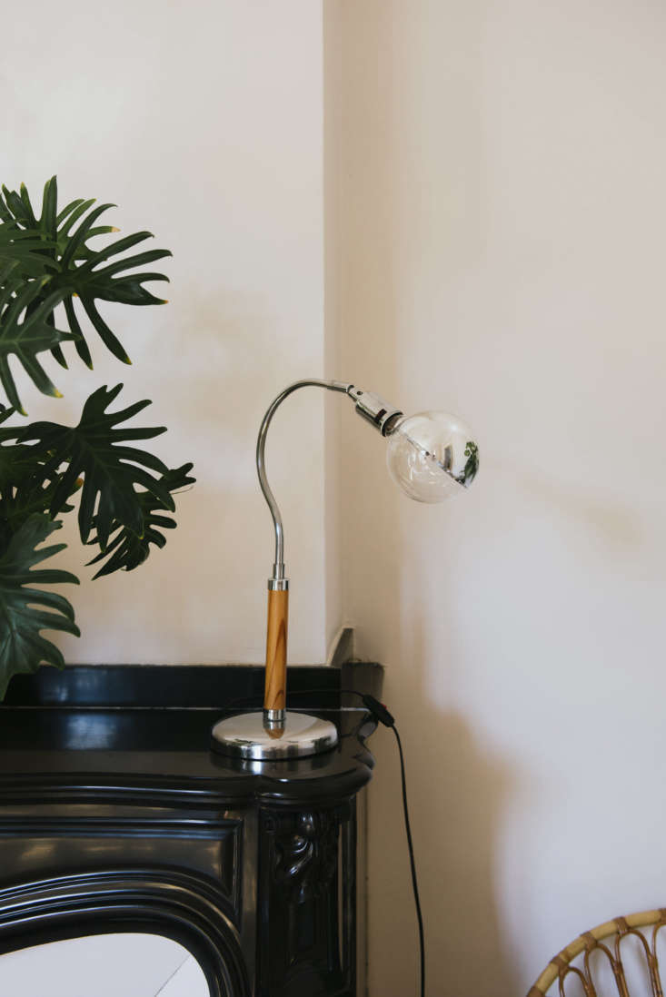 Vintage Lamp in Celine Sathal's Remodeled Country House in France, Photo by Eefje de Coninck