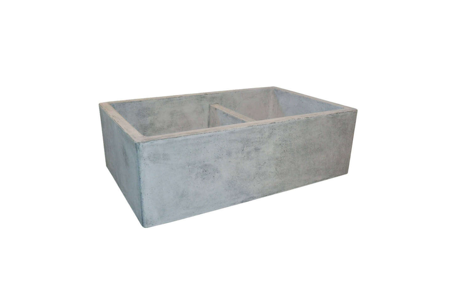 The Native Trails Farmhouse 33-Inch Double Bowl Kitchen Sink is an off-the-shelf alternative to the unique antique soapstone laundry sink sourced for the kitchen here. This one is $1,474.49 at Overstock.com.