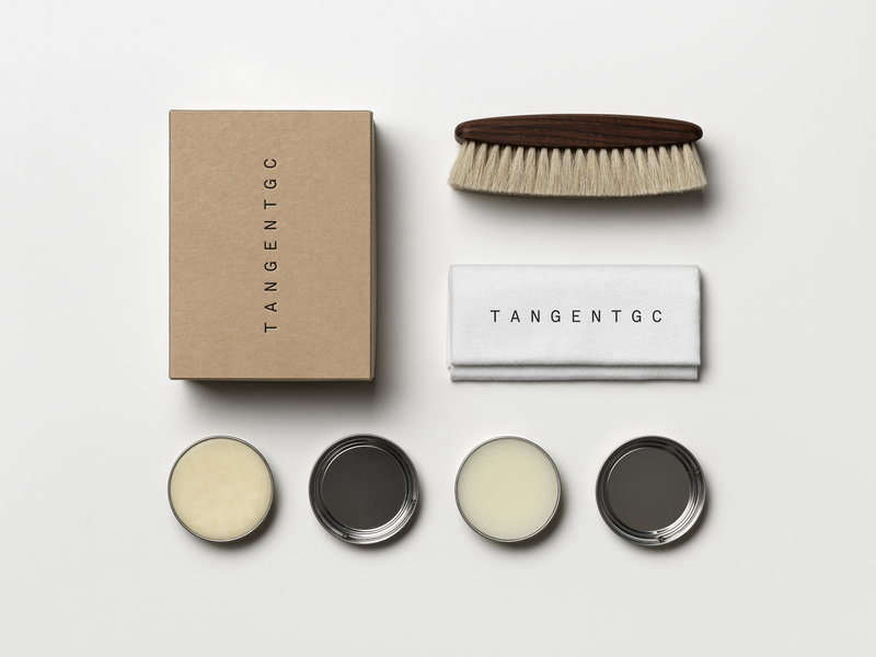 For the practical-minded person on your list, a kit of necessities, beautifully packaged, does the trick. This one is for shoe-shining: theTangent Shoe Polish Kitis $56.30 from the Finnish Design Shop.