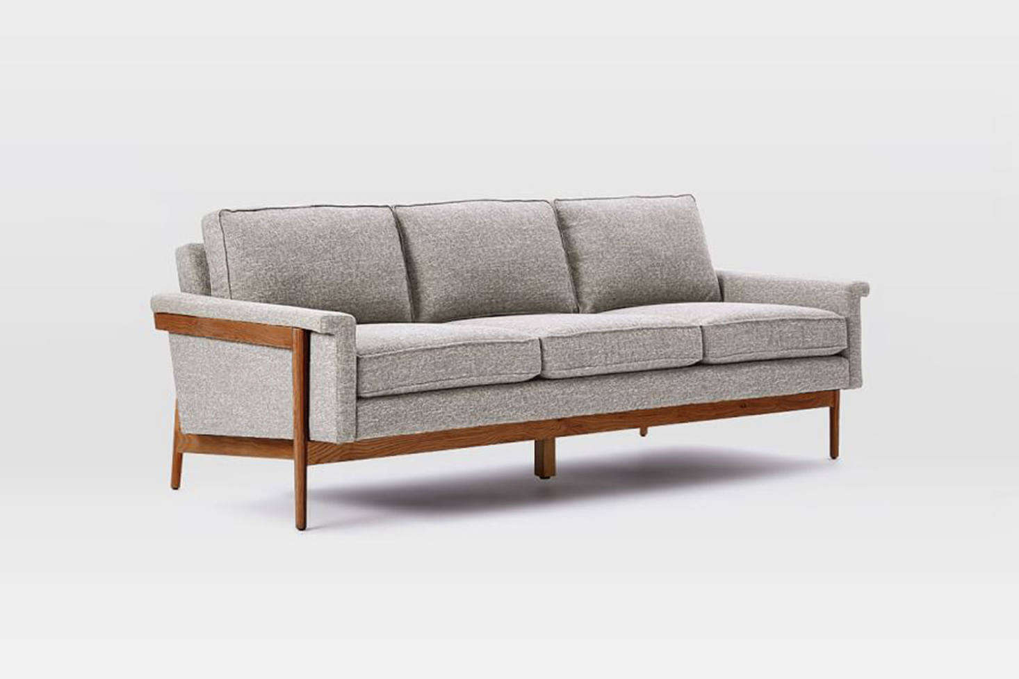 The West Elm Leon Wood Frame Sofa Ranges From 1 399 To 599
