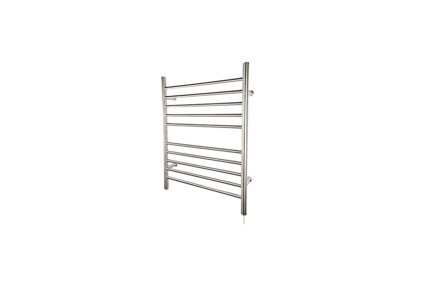 The Amba Radiant Straight Plug-in Towel Warmer in Brushed or Polished Steel is $217.95 at Only Towel Warmers.