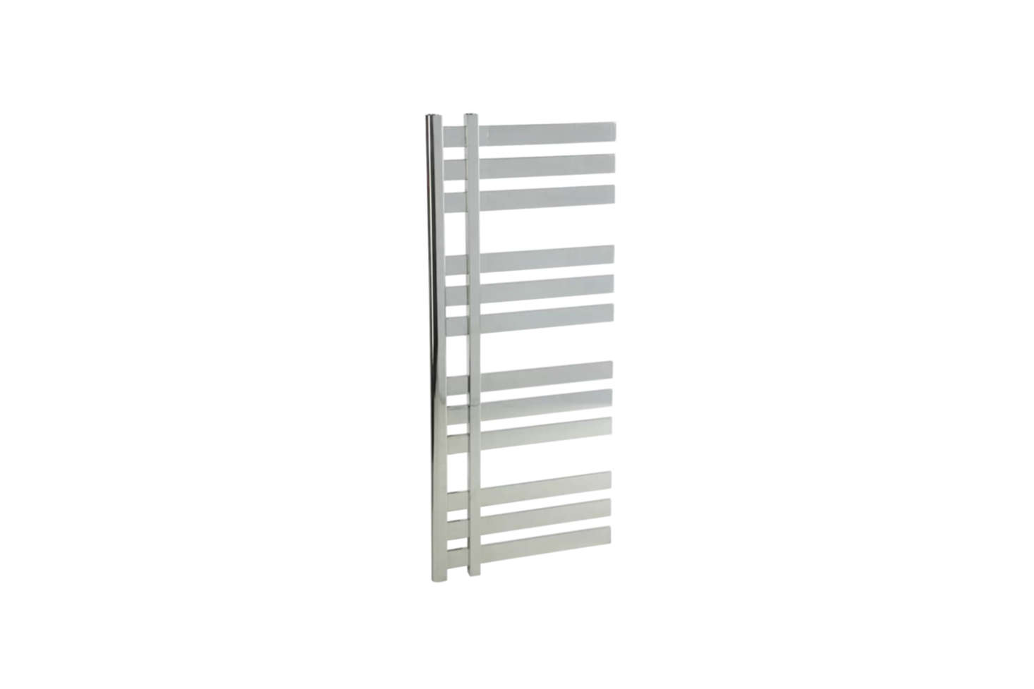 Another style from Artos, the Lioni Mount Electric Towel Warmer (MS12250P-CH) comes in Polished Nickel, Brushed Nickel, or Chrome (shown) for $1,549.99 at Wayfair.