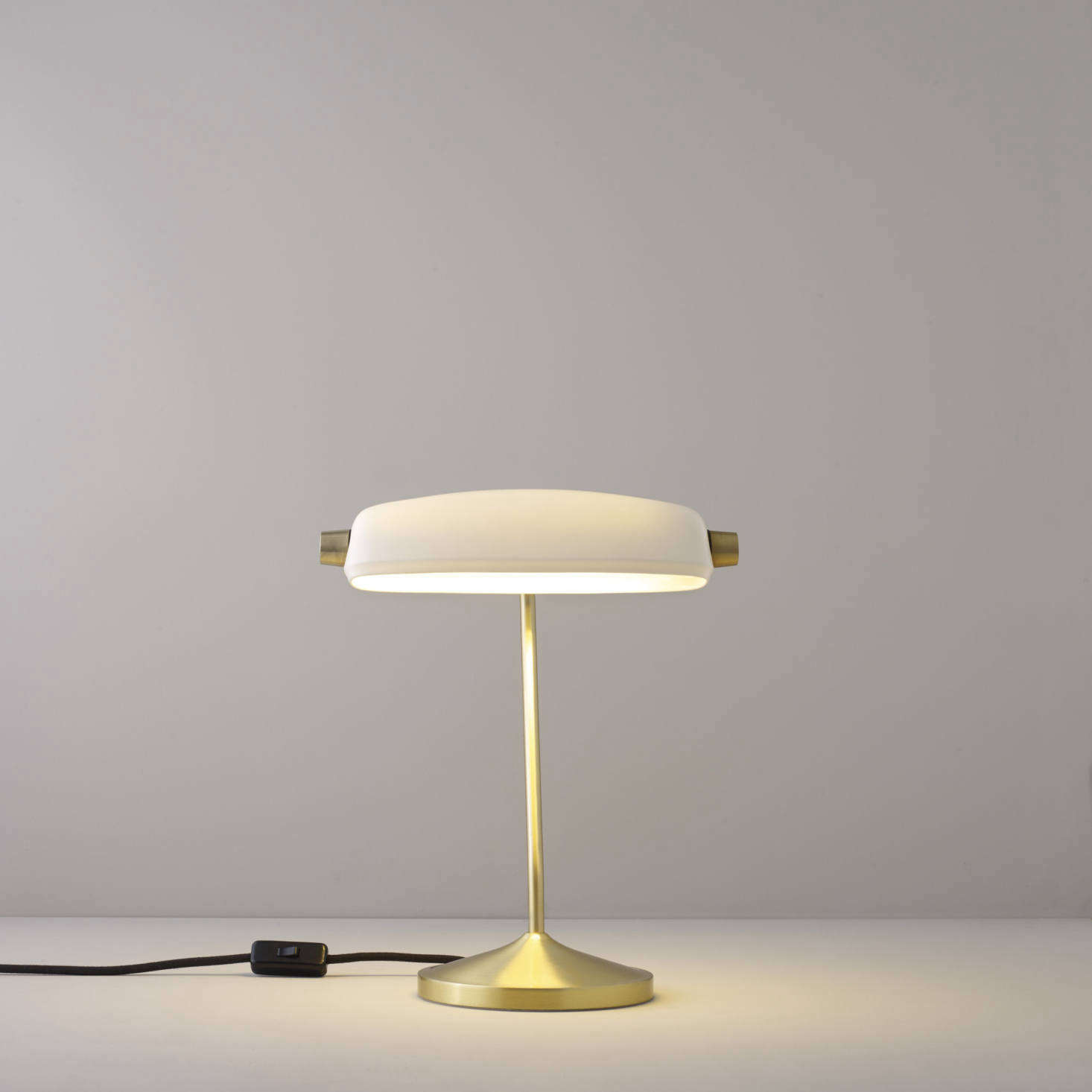 High/Low: The Modern Banker's Desk Lamp