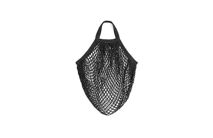 Arket carries String Bags by Turtle Bags, made of organic cotton, for 60 SEK each; I came home with two of these (one black, one white).