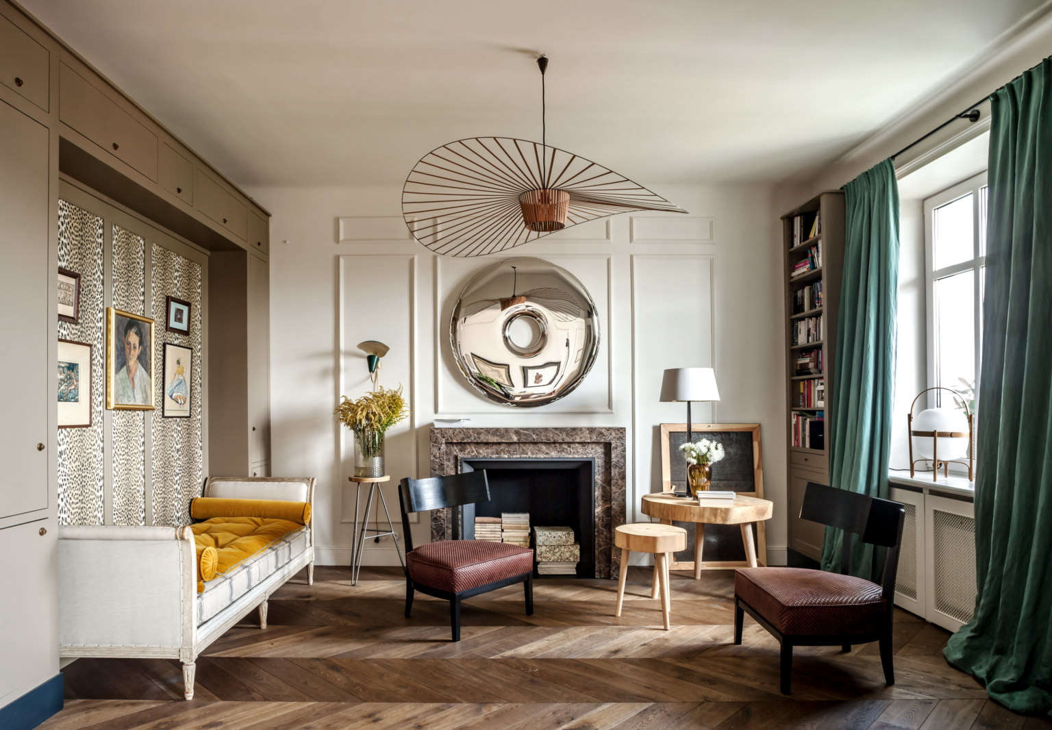 A Glamorous Pre-War Flat in Poland, Courtesy of Colombe Design (and eBay)