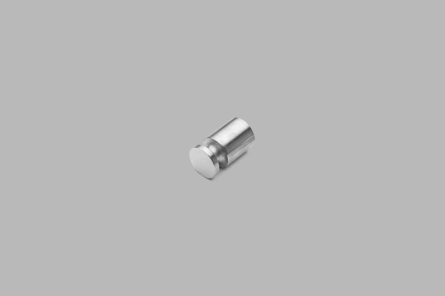The D Line Knud Holscher Coat Hook in Satin Stainless Steel is $47.25 at Better Building Hardware.