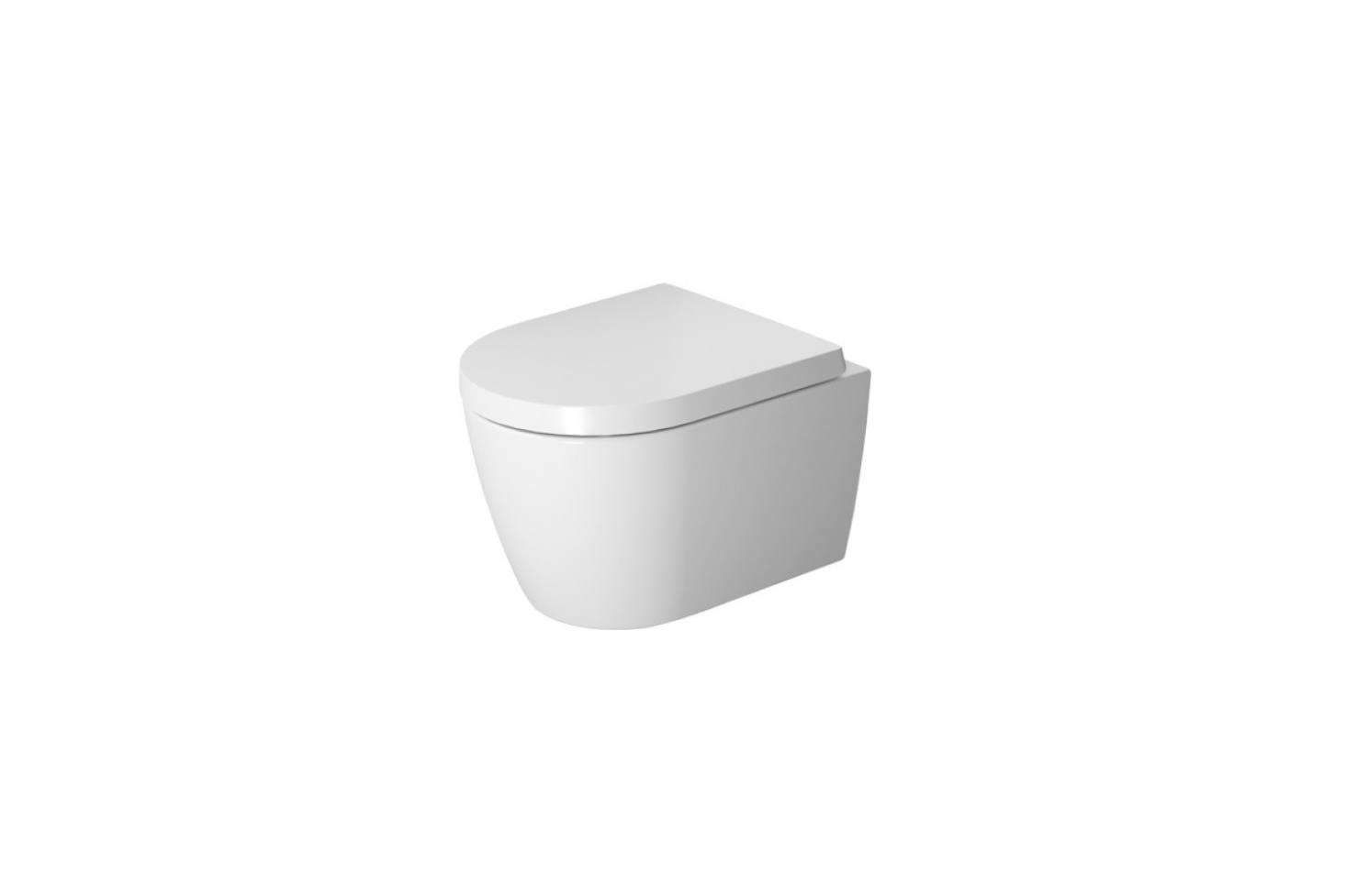 The Duravit Me by Starck Compact Wall-Mounted Rimless Toilet (2530090092) is $249.48 at Quality Bath. For more see our post10 Easy Pieces: Wall-Mounted Toilets.