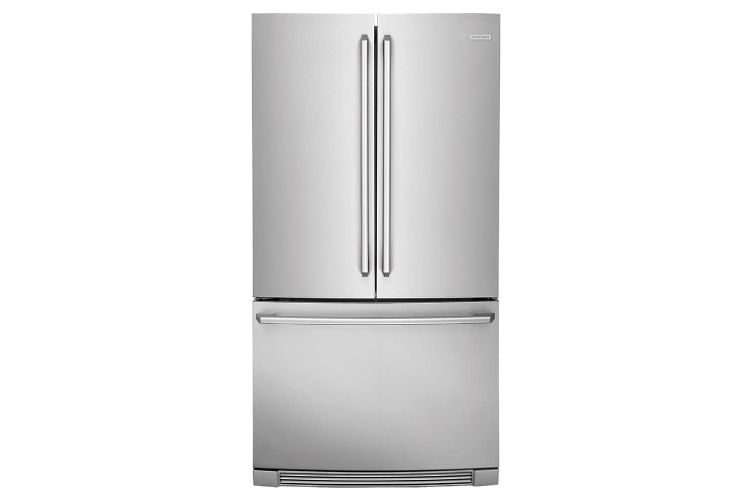 """The Electrolux 36-Inch Counter-Depth French Door Refrigerator (EI23BC82SS) includes what the manufacturers call an """"IQ-Touch"""" control and self-closing doors. It's 28 1/2 inches deep and $3,143.10 at US Appliance."""