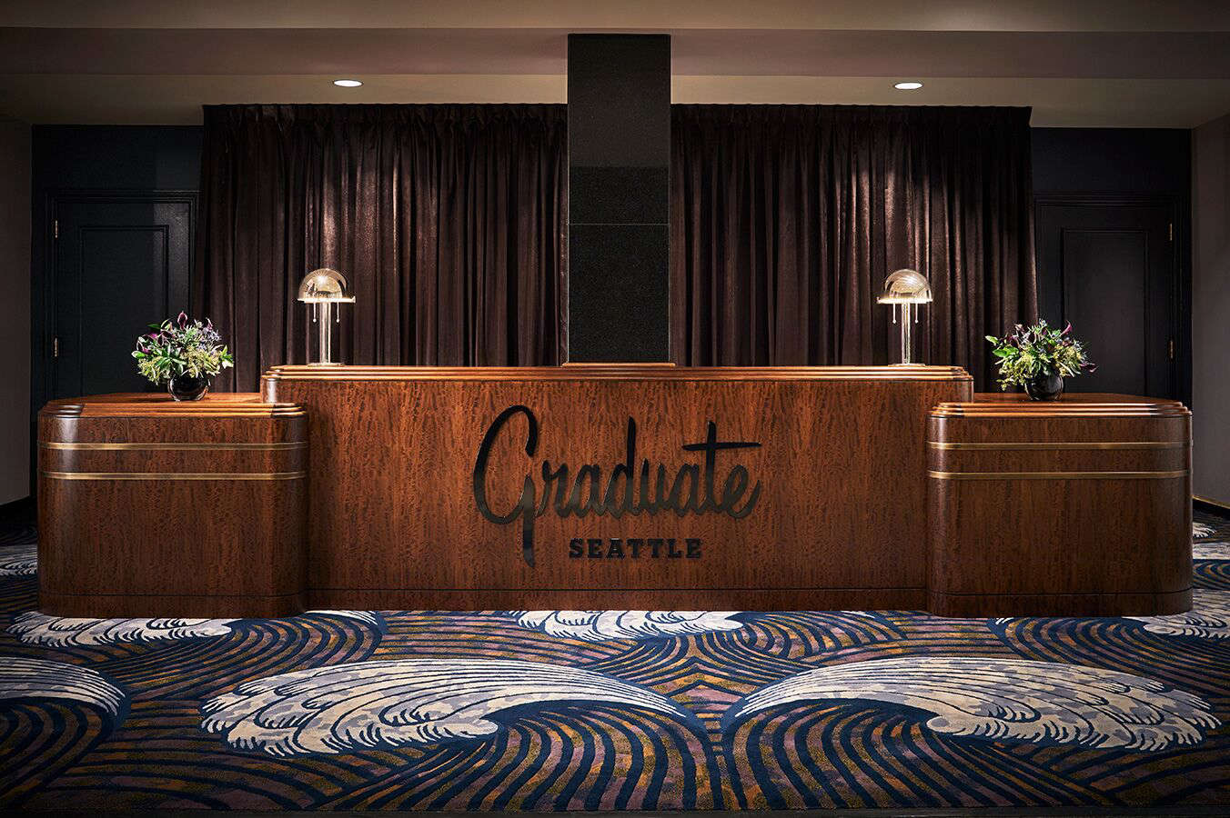 A Master Class in Art Deco at the Graduate Hotel in Seattle