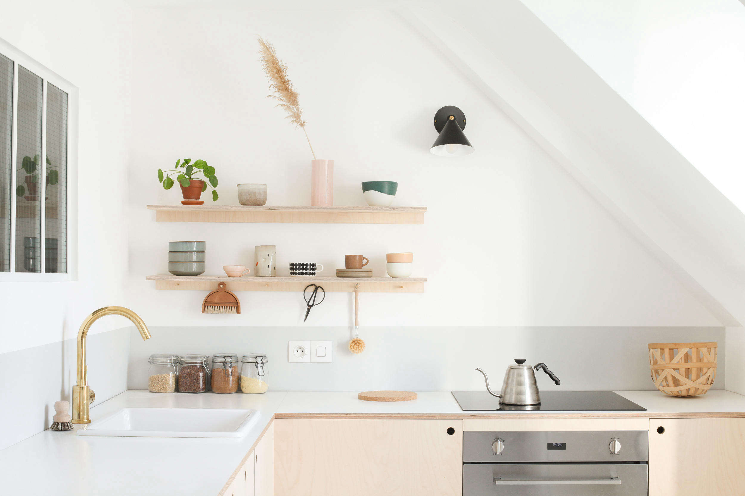Budget Small Kitchen Makeover Two Young Architects Build