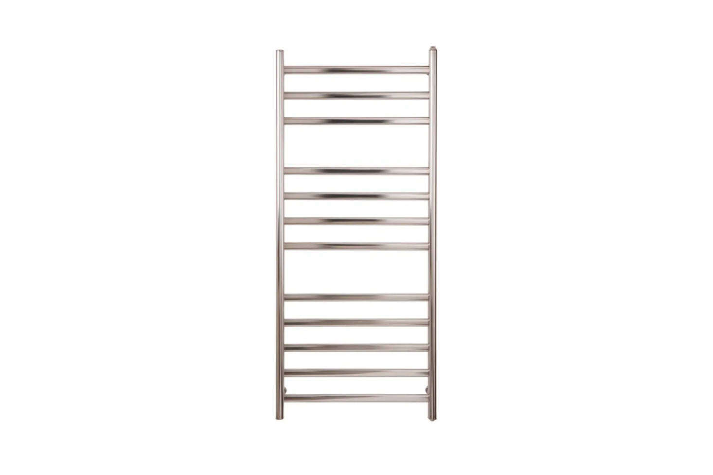 The Myson Diamond Electric Towel Warmer in Matte and Bright Stainless Steel is $328.50 at Quality Bath.