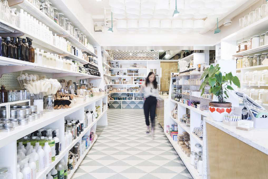 Linh Truong, co-owner of Vancouver refill shop The Soap Dispensary, weighs in on making your beauty routine more eco-friendly in the new year inExpert Advice: 8 Eco-Friendly Beauty Resolutions to Make This Year (Plus a 2-Ingredient DIY Salve). Photograph courtesy of The Soap Dispensary.