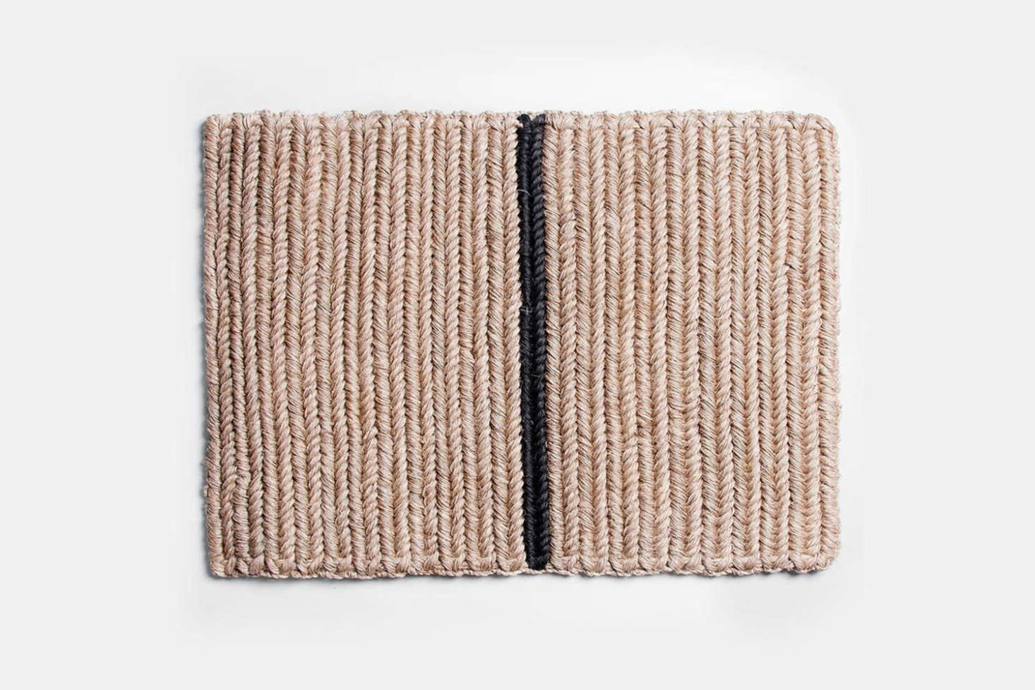 On Chic Footing: Understated Doormats from Colombia