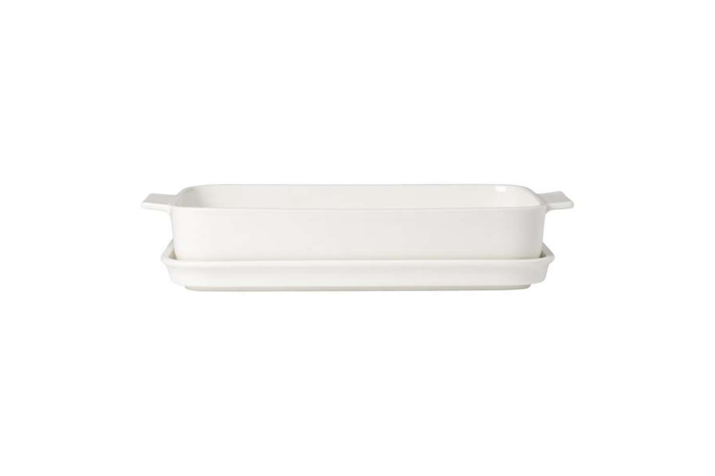 The Villeroy & Boch Clever Cooking Medium Rectangular Baker with Lid is $41.21. Contact Villery & Boch for stock information and ordering.