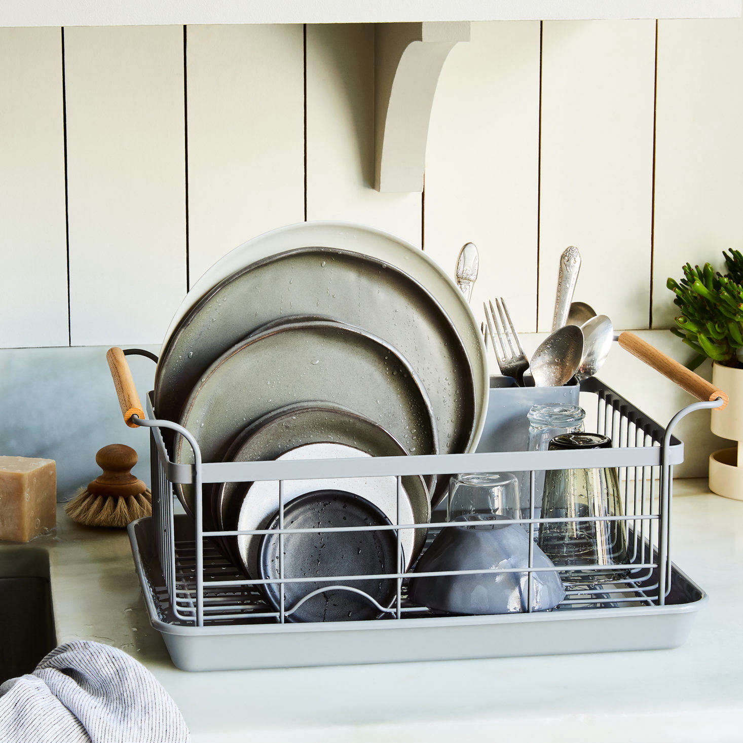 A dish rack so good it had a 1,500 person wait list? We were shocked too, but it's true. Read about what makes it so great inEveryone Wants This 'It' Dish Rack (It Even Had a Wait List!). Photograph courtesy of Food52.
