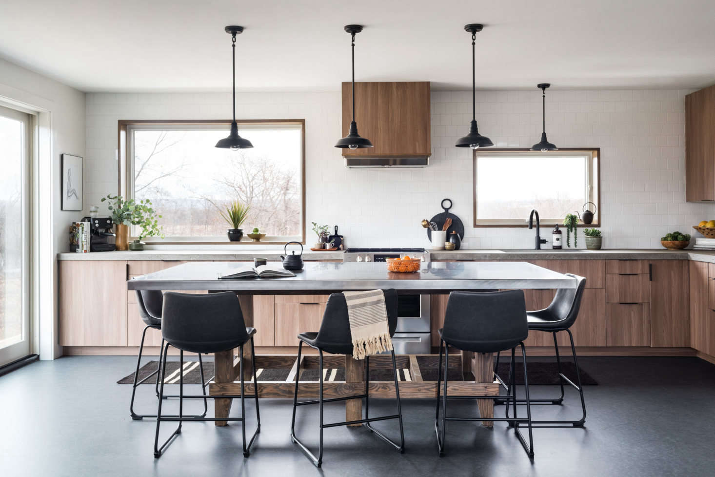 Kitchen of the Week: An Eco-Friendly, Elevated Ikea Kitchen in a Family's Forever Home
