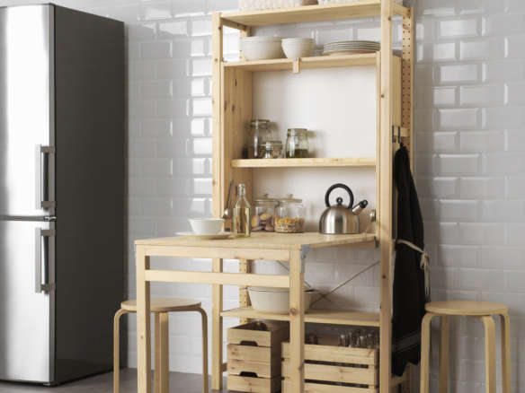 Take A Look At A Stylish Ikea Kitchen Hack By Designer Cecilie Manz