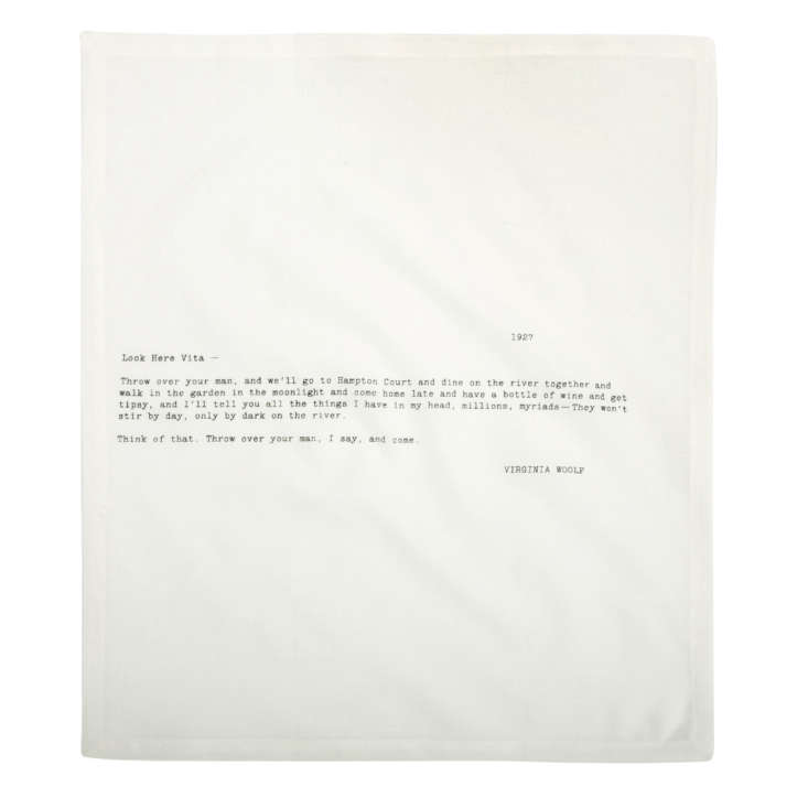 Letter Napkins by Sir/Madam