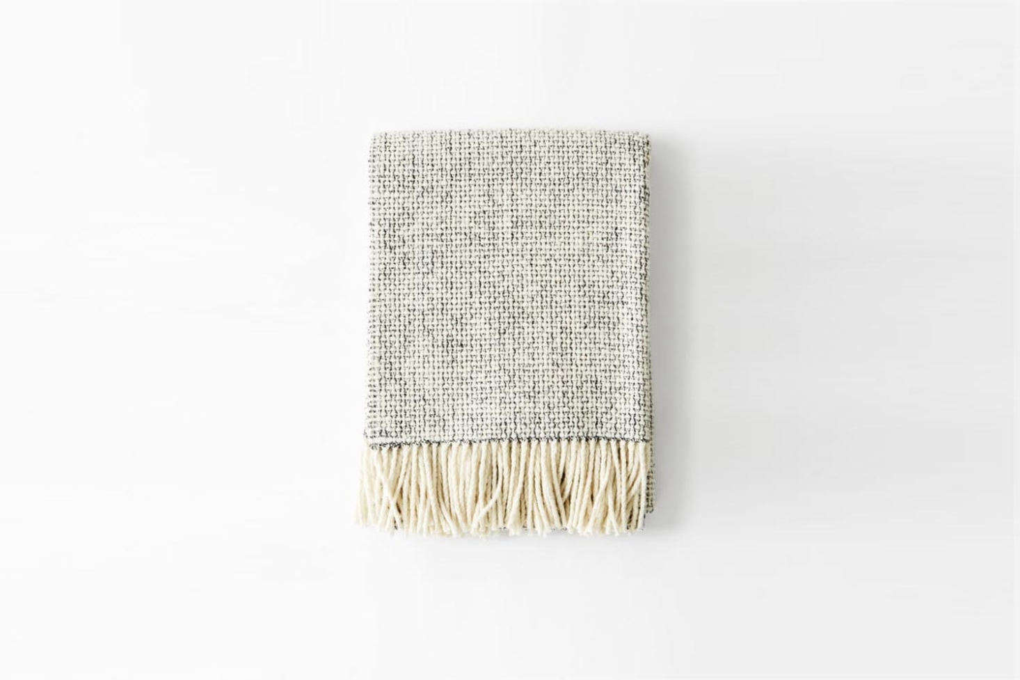 The Mourne Textiles Mended Tweed Blanket in Handwoven Charcoal Grey is £4 at Mourne Textiles.