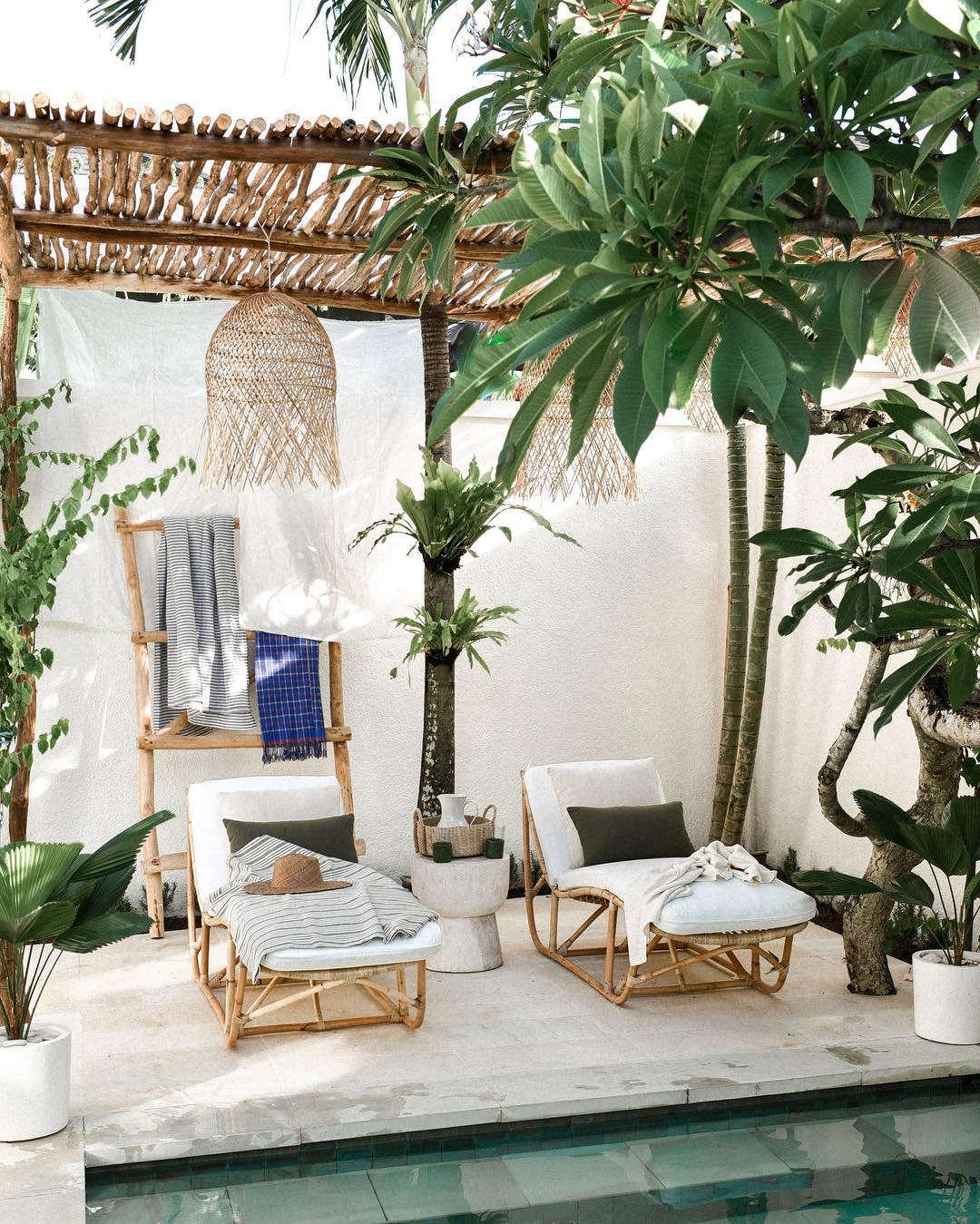 tuin in balinese stijl