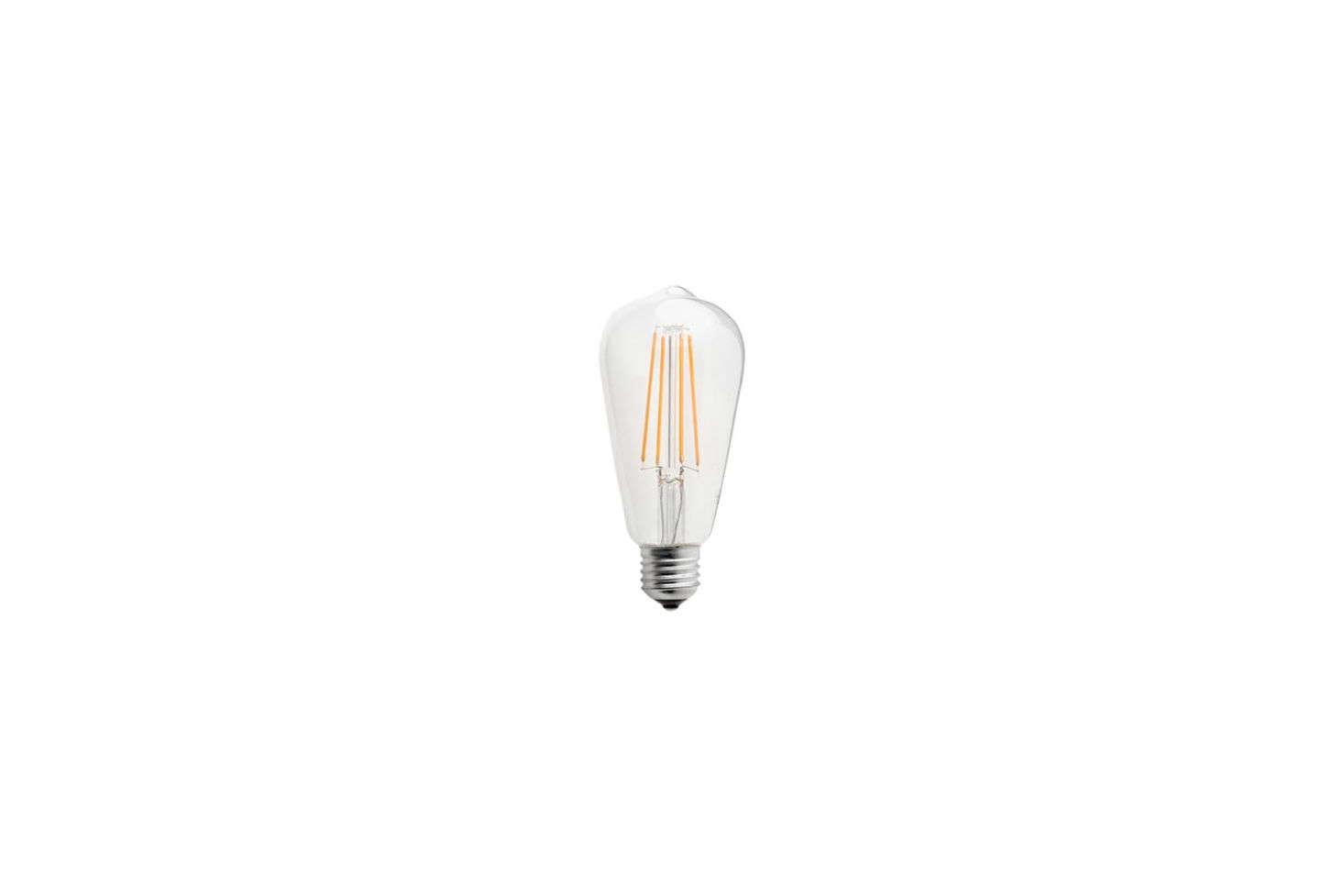 The Zangra LED Light Bulb Filament Edison 4W casts an extra warm light; €.95 at Zangra.