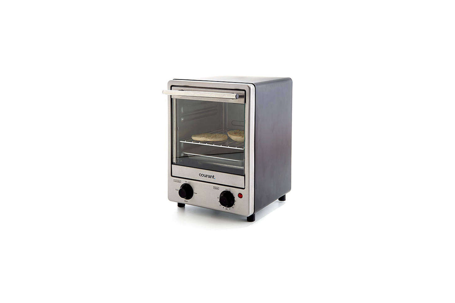 The straightforward Courant Stainless Steel Toaster Oven is src=