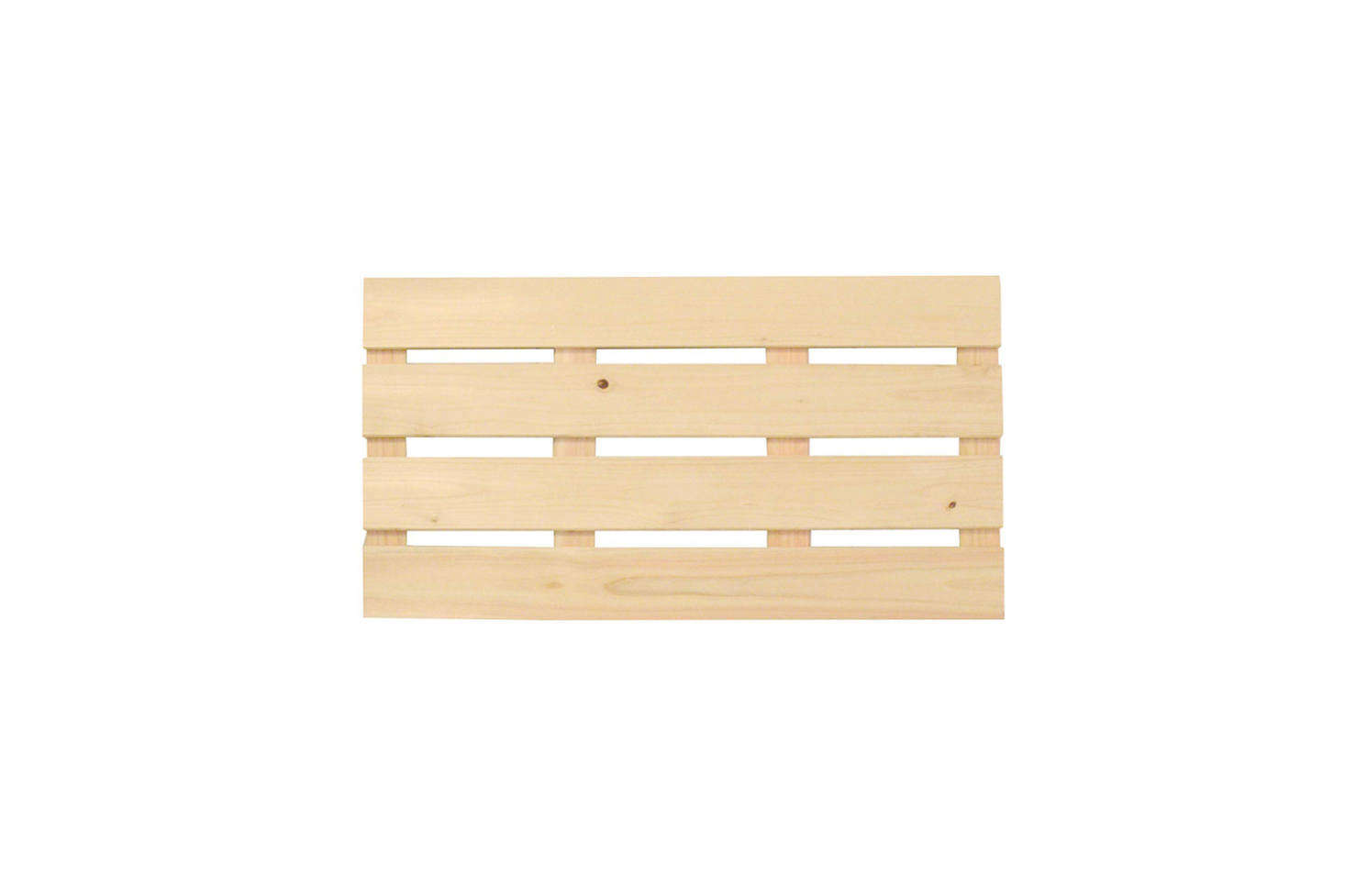 Another bathroom essential is the Hinoki bath mat. The Japanese cypress wood is naturally antibacterial, dries quickly, and has the appealing Hinoki wood scent. The Ippinka Large Hinoki Wood Bath Mat is $68 on Amazon.