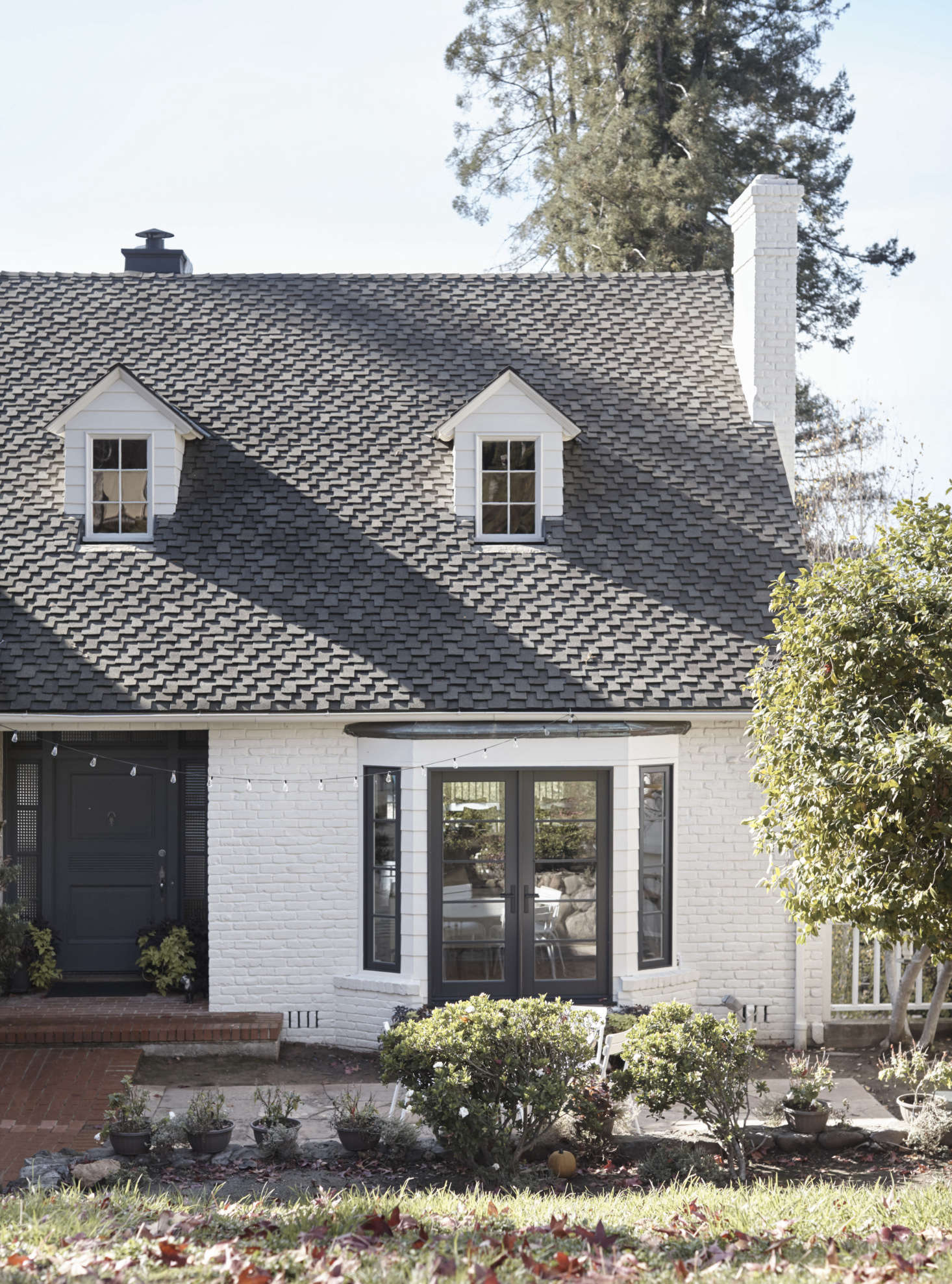 Suburban-Staid No More: A Stylish New California-French Look for a