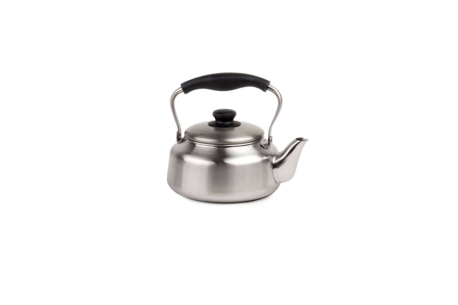 TheSori Yanagi Stainless Steel Kettlein matte brushed steel is a longtime Remodelista favorite and it's available for $78.80 on Amazon.