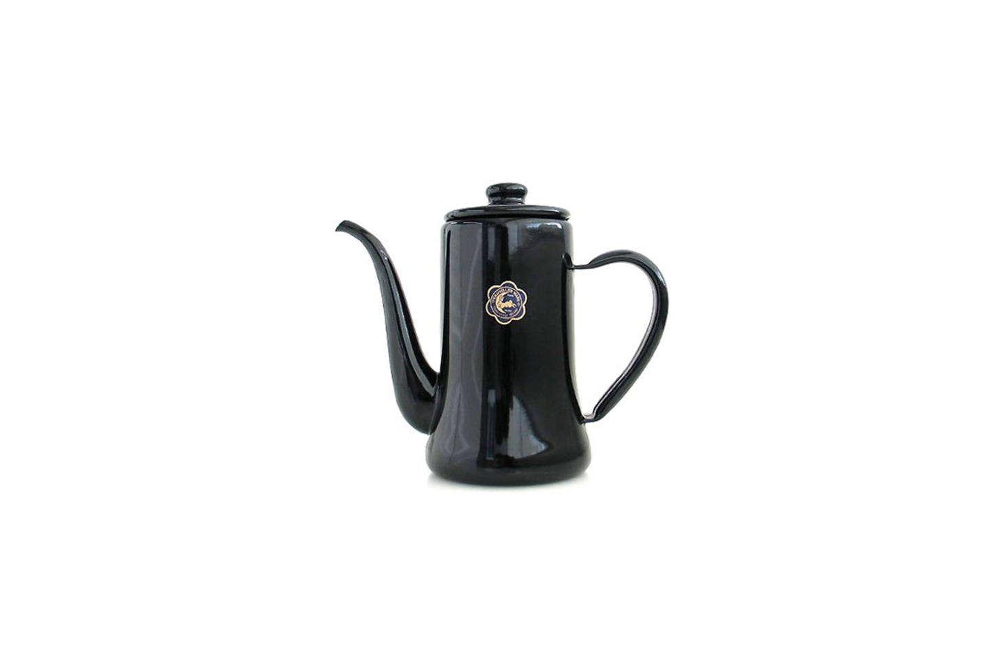 An enamel teapot we&#8