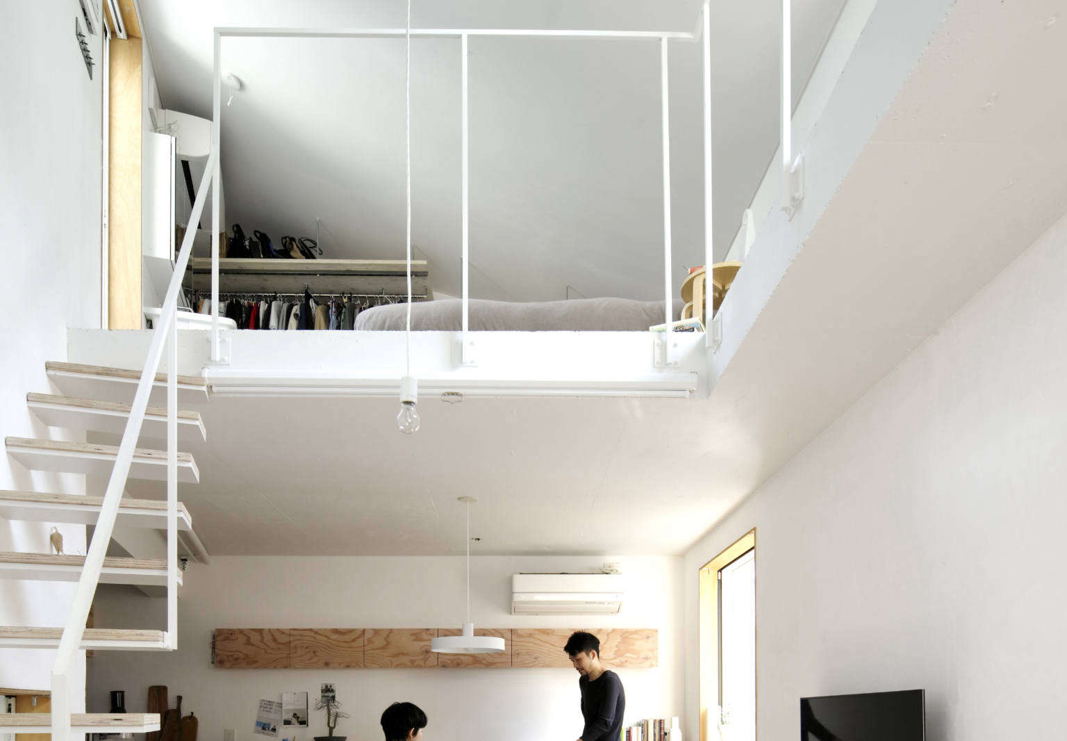 Vertical Alley: A Live/Work Tower for Two in Tokyo