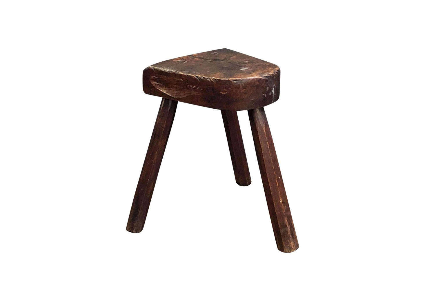 A Vintage Wooden Milking Stool can be sourced on 1st Dibs. This one is made of oak and is $1,895.