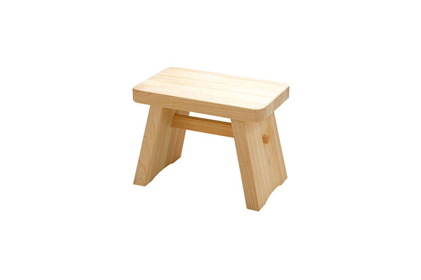 For an instant-spa look, a short Hinoki wood stool is a Japanese bathhouse essential. The Youbi Hinoki Large Bath Stool is $87. on Amazon.