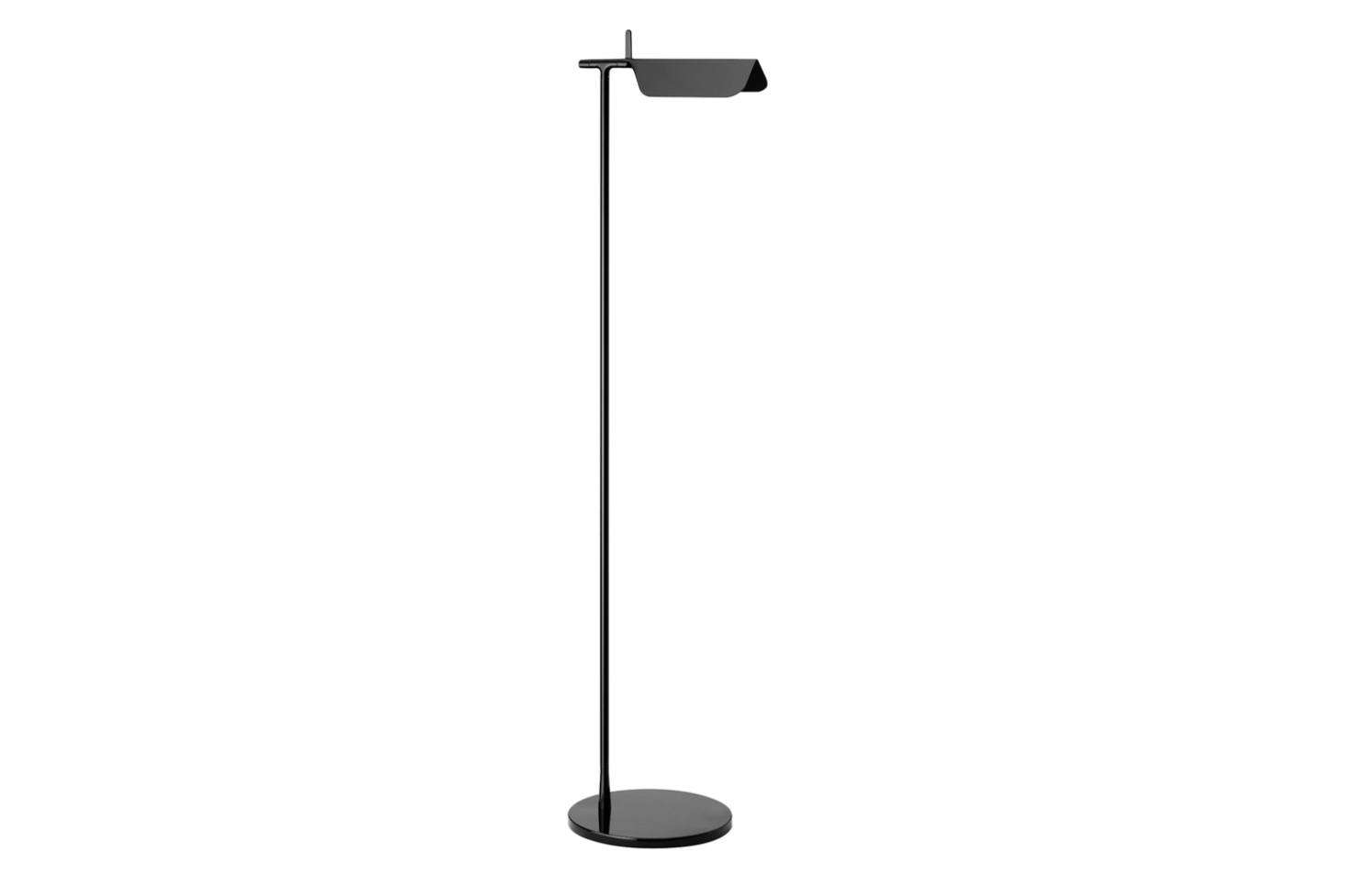 The Flos Tab Floor Lamp is designed by British team Edward Barber and Jay Osgerby for Flos in 2007 and comes with black and white; $495 at Design Within Reach.