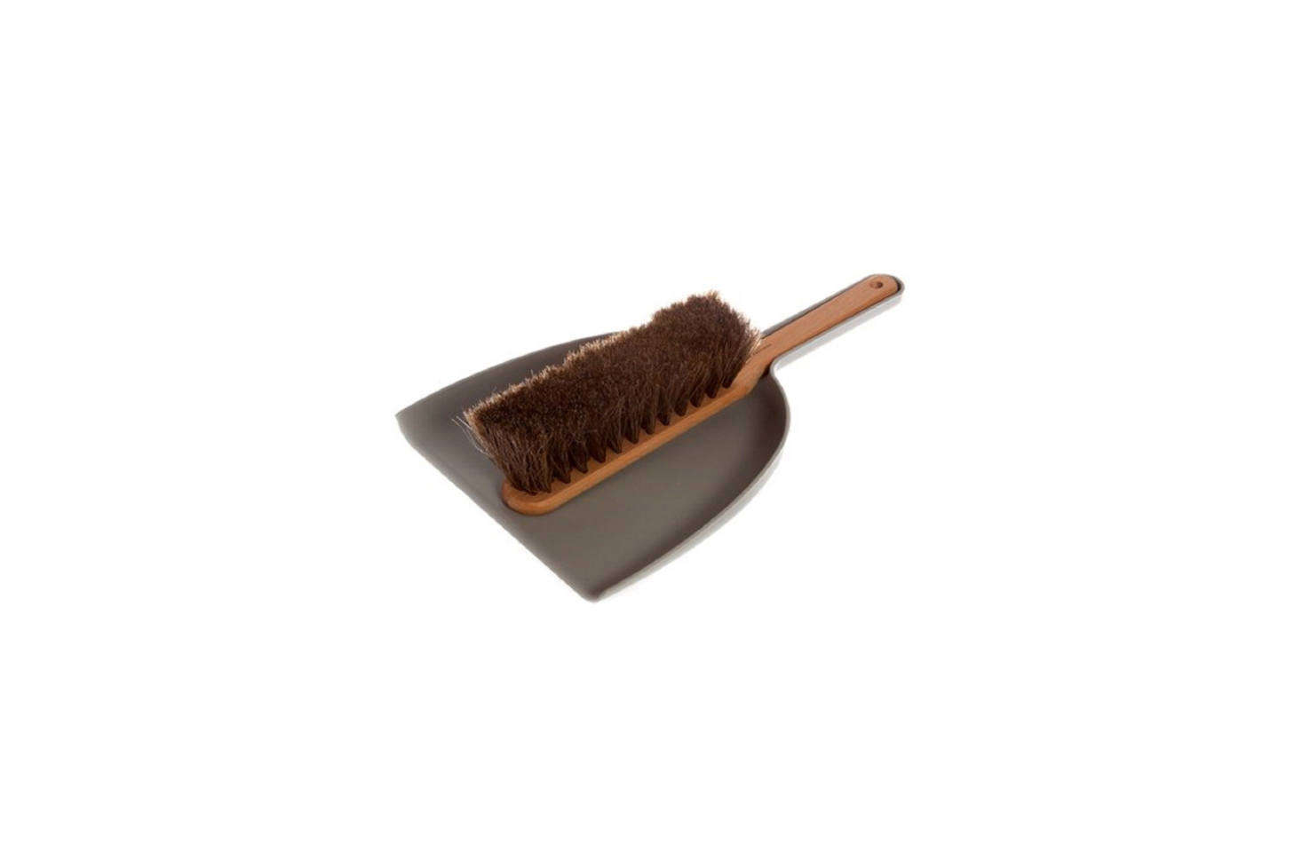 Another classic from Iris Hantverk is the Dustpan and Brush Set, shown here in Grey, which happens to be available on Amazon too. The brush is handmade with horsehair by the visually impaired at the Iris Hantverk studio outside of Stockholm and the dustpan is plastic; $44.97