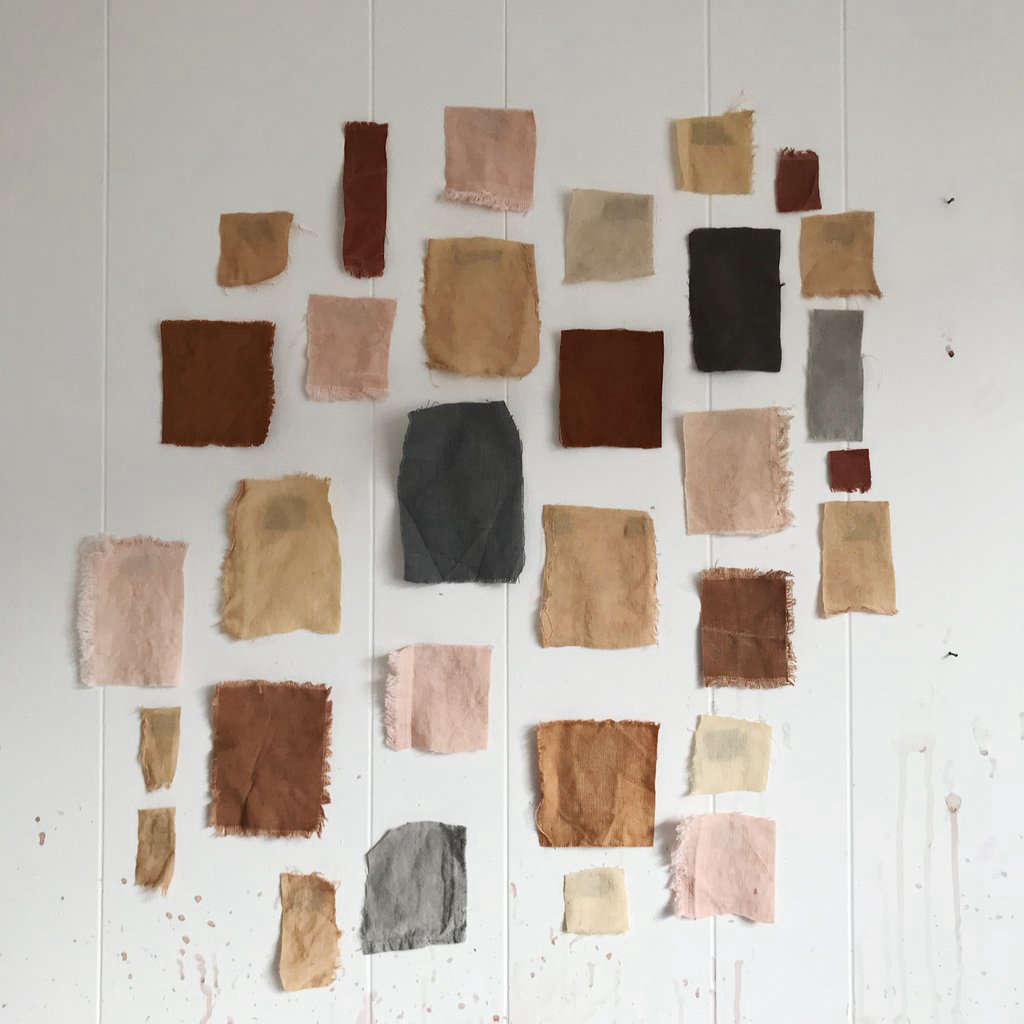Sample dye colors.
