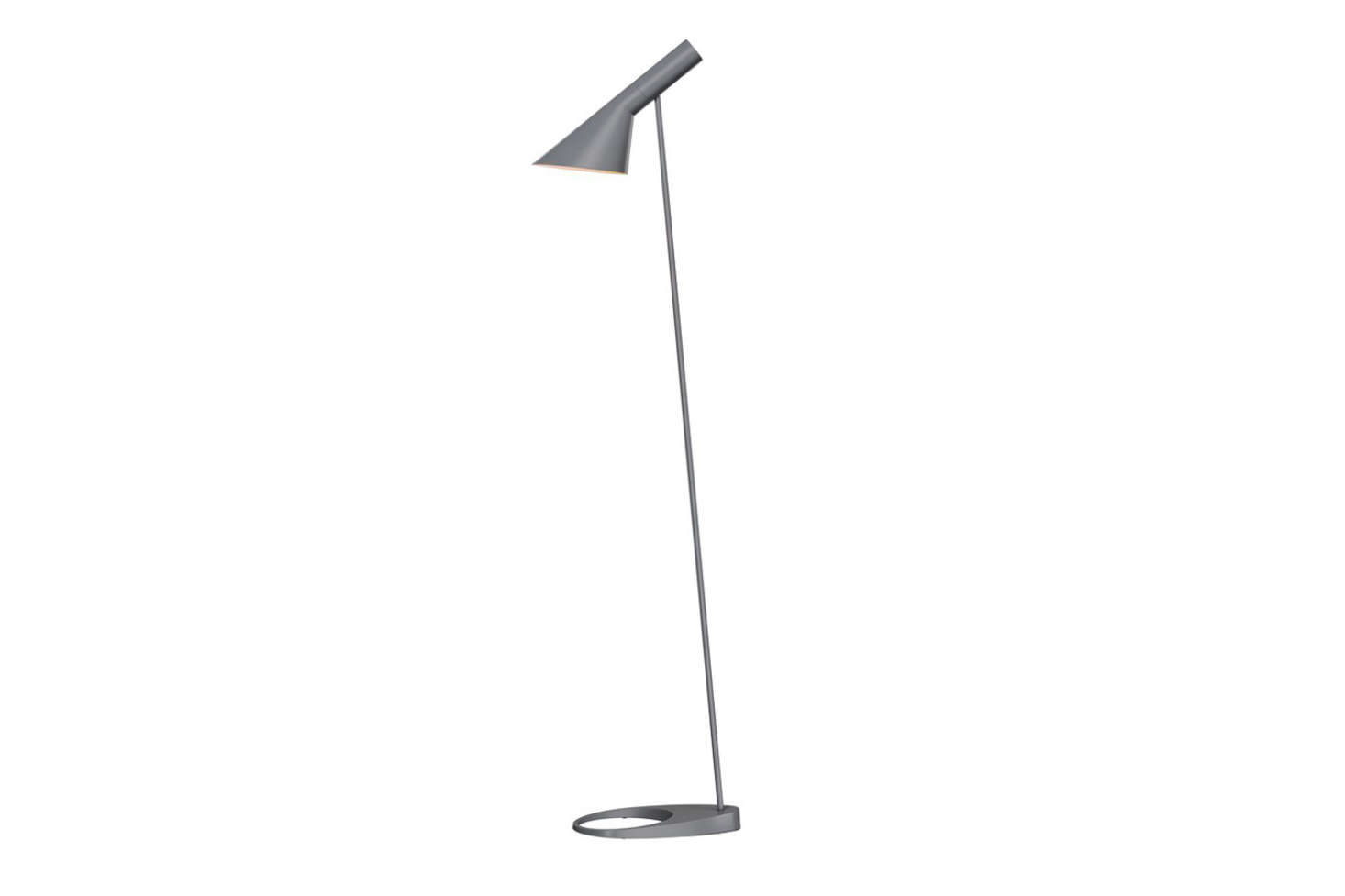 Arne Jacobsen designed the AJ Floor Lamp as part of his 1960 collection for Louis Poulsen. It delivers glare-free, directed light and has become an icon since its first release. Made with a steel shade and zinc base, the lamp comes in 10 colors; $1,122 at Horne.