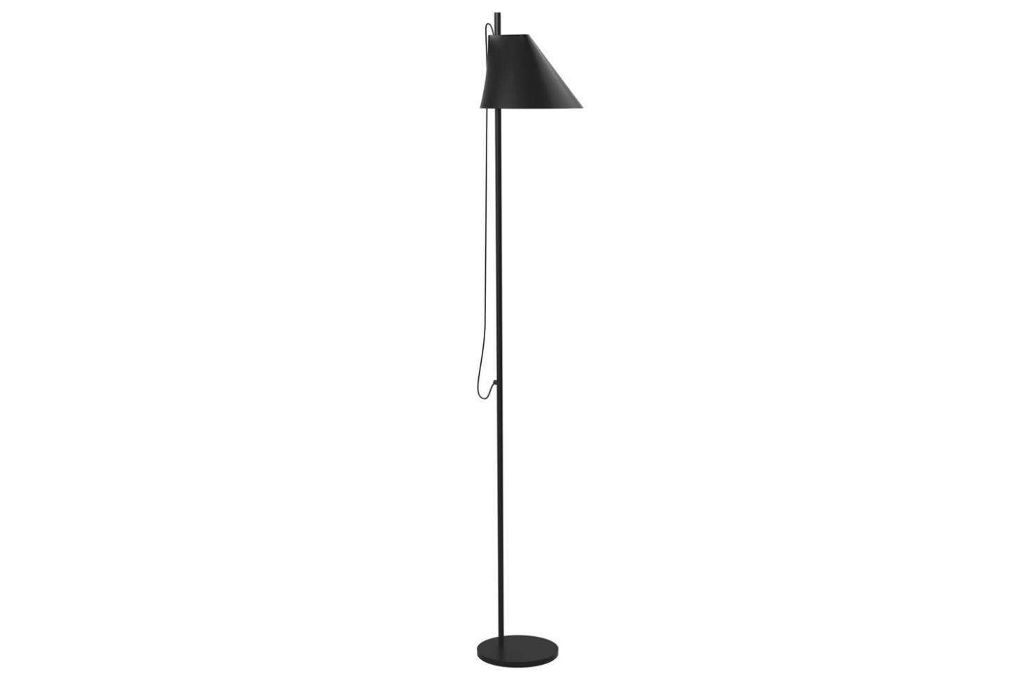 The Yuh Floor Lamp designed byLouis Poulsen has a shade that pivots and rotates and an LED light that dims down to 15-percent. Designed in Denmark from die cast aluminum, the lamp is $764 at Horne.
