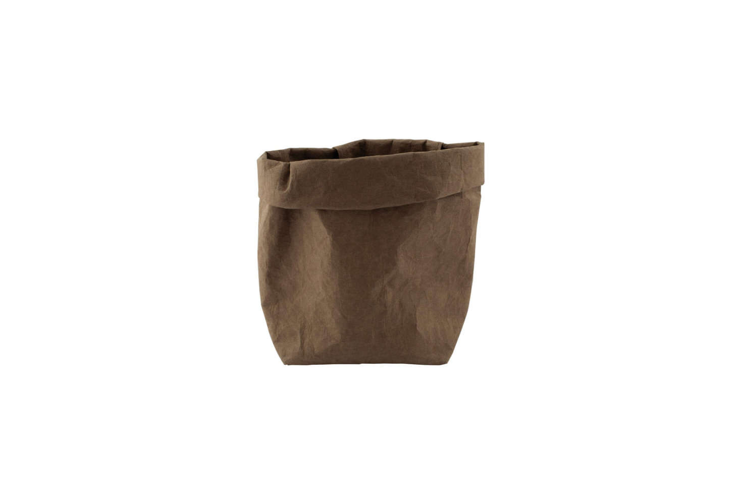 It looks like a leather bag, sort of, but it's made of cellulose fiber and is reusable. It's great for keeping cleaning brushes corralled or for storing rags under the sink. The Redecker Medium Leather Look Tote Bag is $22.99 on Amazon Prime.
