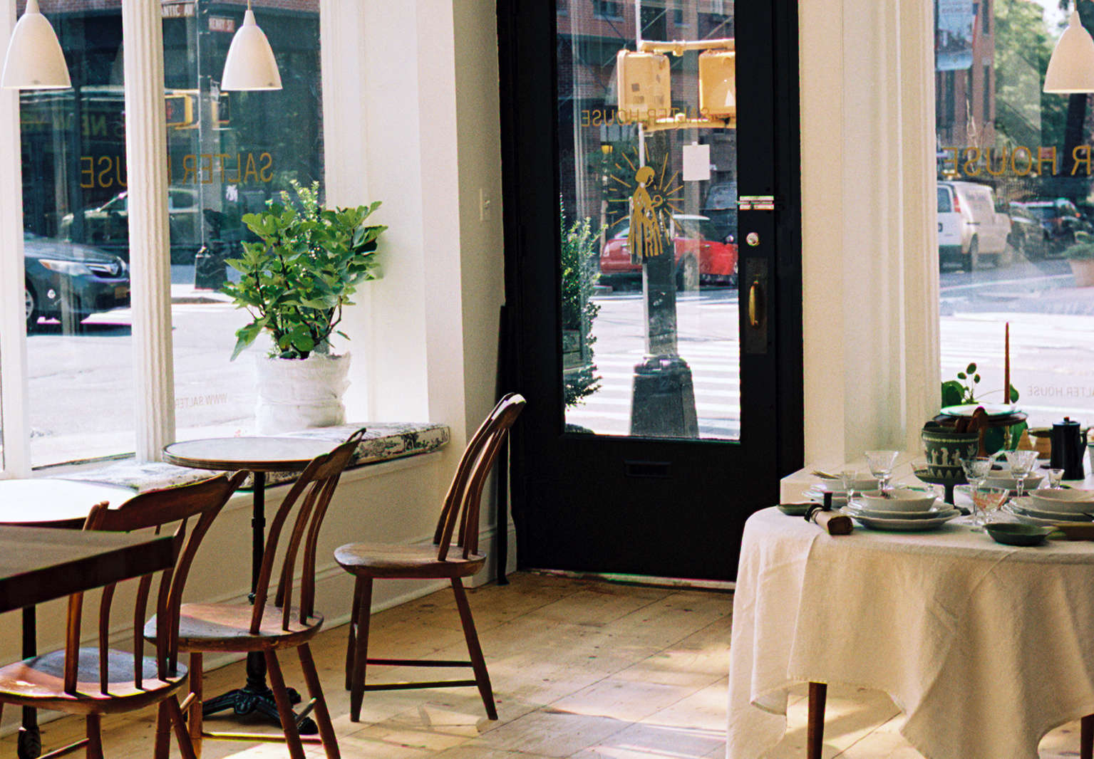 Salter House: An Artfully Old-Fashioned Shop and Tea Room in Brooklyn Heights
