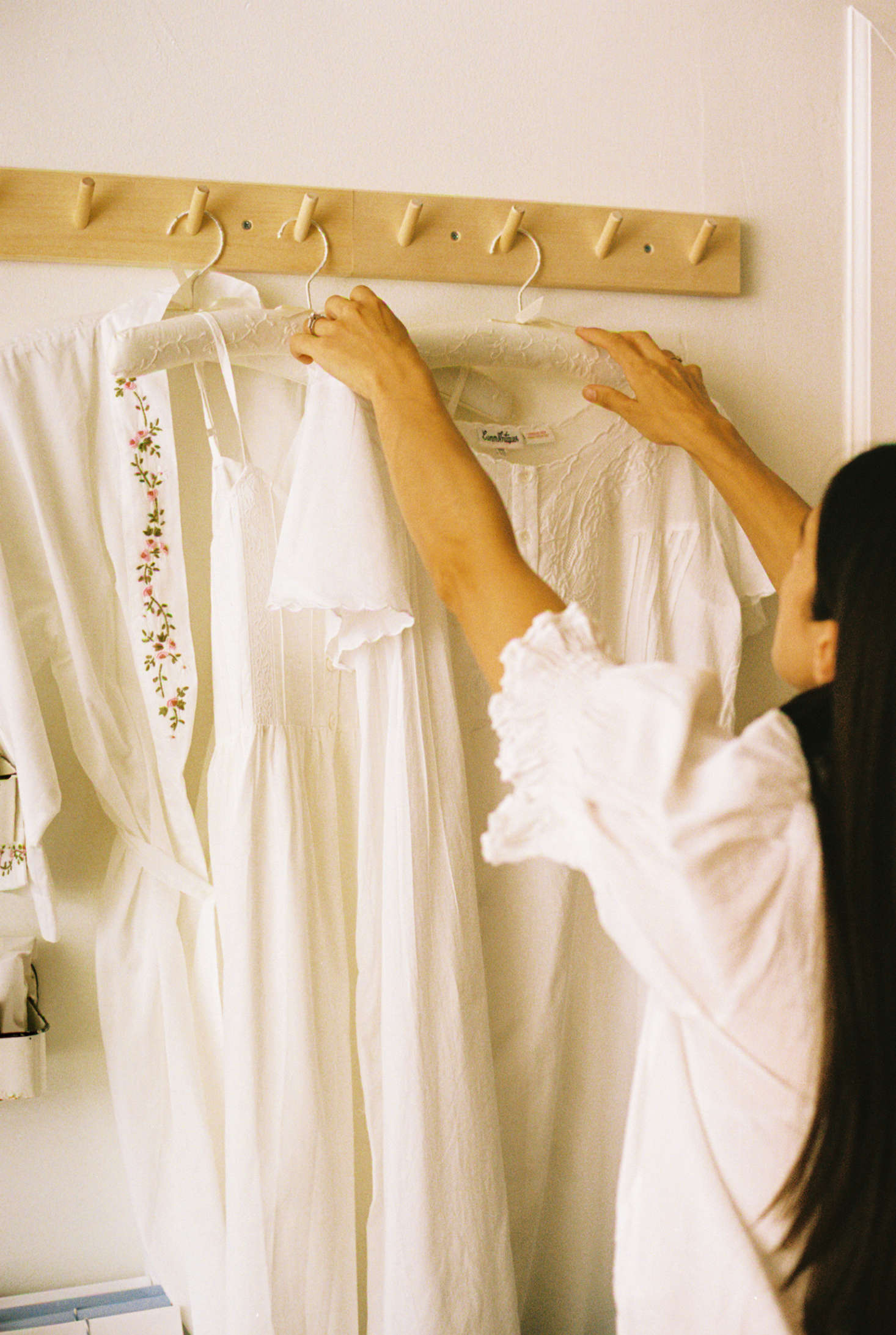 Also on offer: white cotton nightdresses.