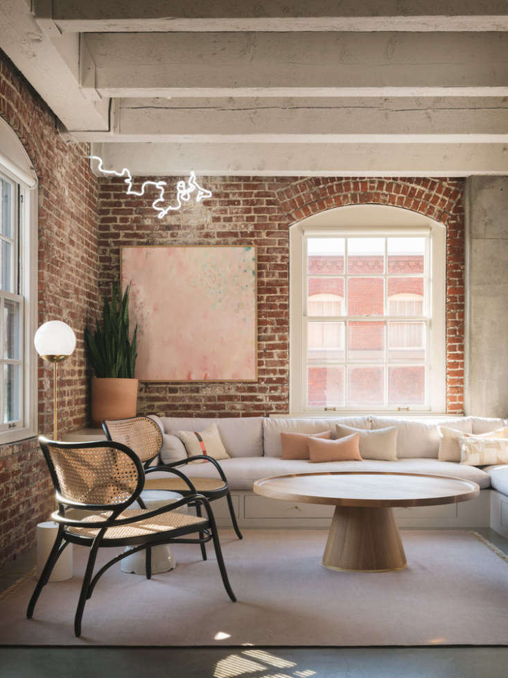 Living Room in Pearl Street Loft by Jessica Helgerson Interior Design, Photograph by Aaron Leitz