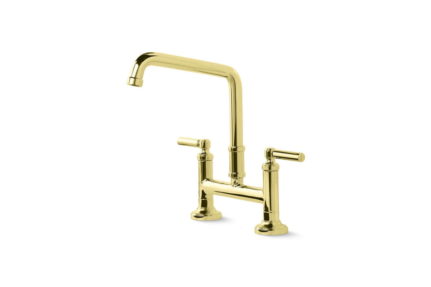 Campo Three Leg Bridge Kitchen Faucet