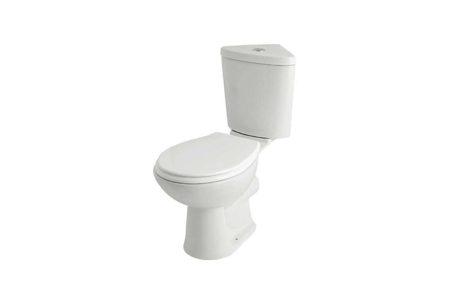 The Kartell G4K Corner Toilet Cistern with Soft Close Seat in White is £9src=