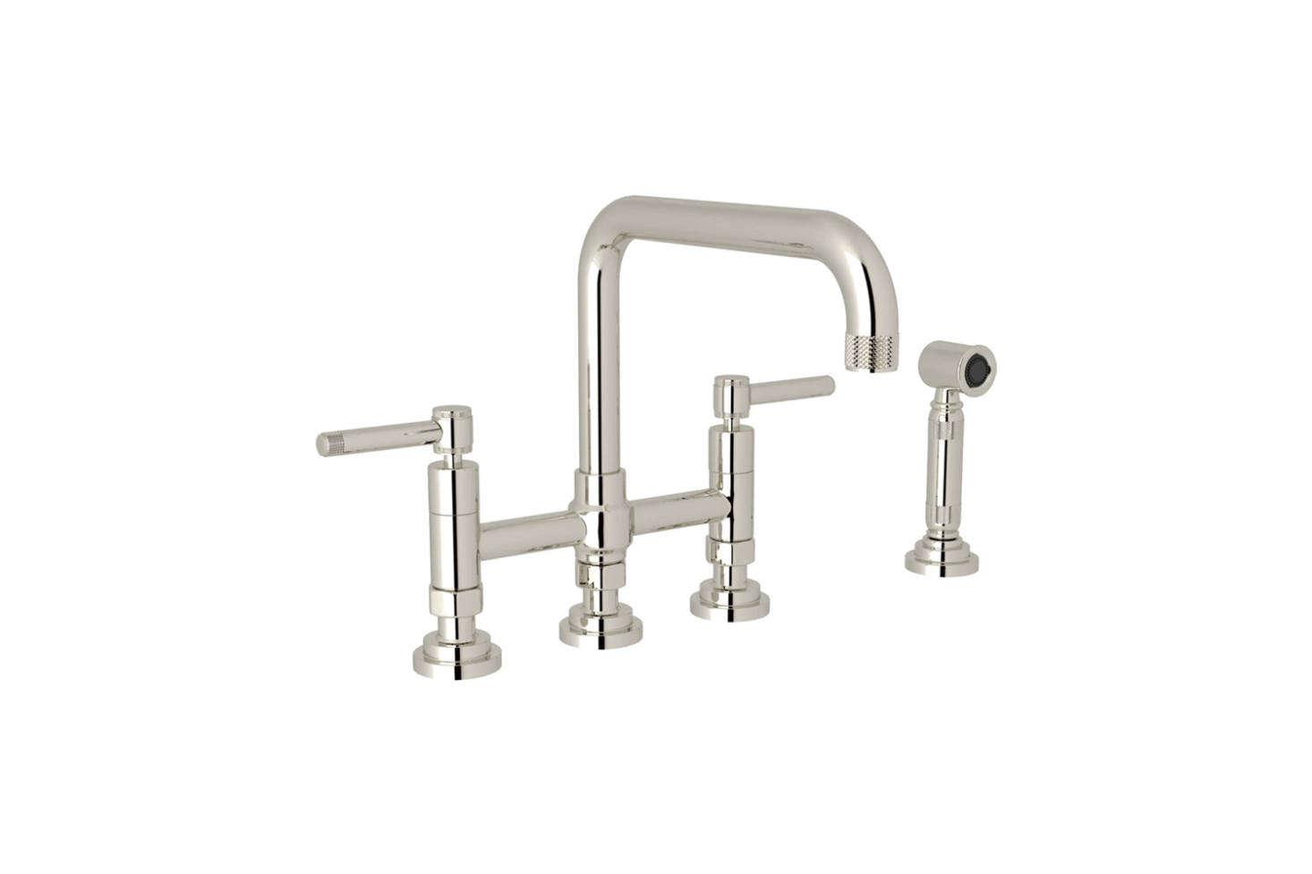 10 Easy Pieces: Modern Bridge Faucets - Remodelista